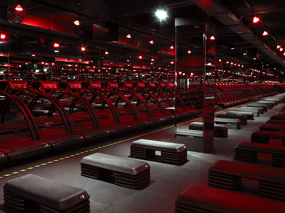 Barry's Bootcamp, red room studio 5 weeks to 5k
