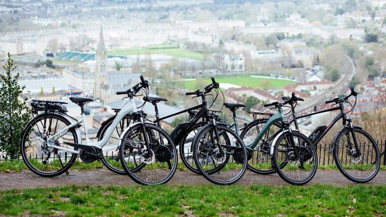 Raleigh motus electric bike health benefits free test ride Lucy Wheater Jim Peterman Healthista