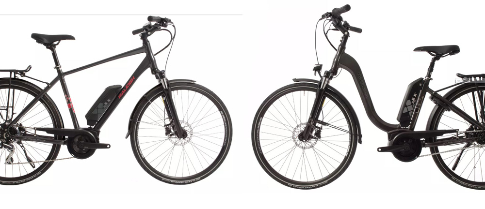 Raleigh e-bike motus crossbar low step grand tour Wheater Peterman Healthista