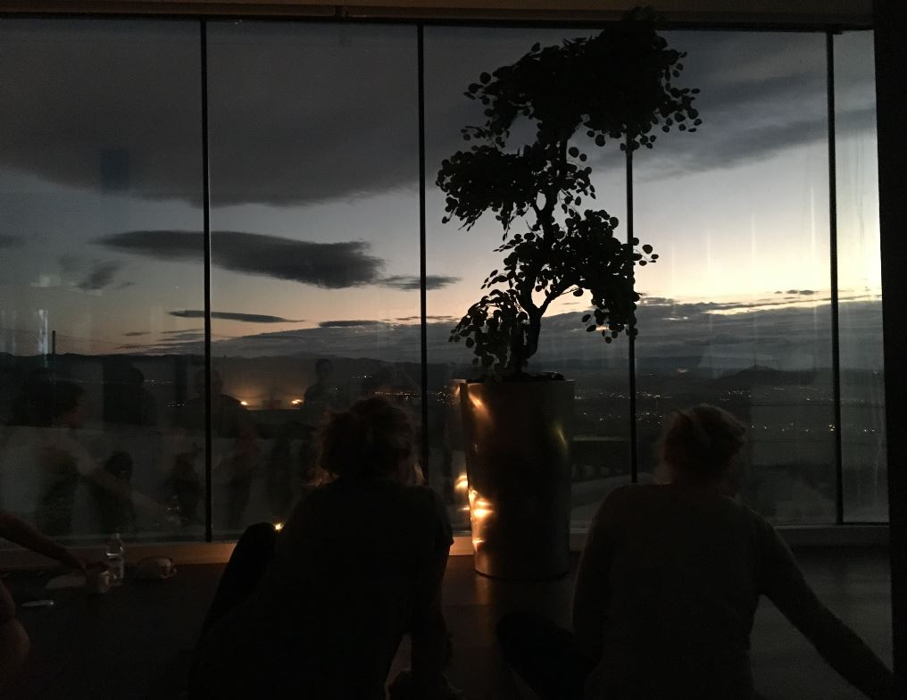 Reset Retreats evening yoga