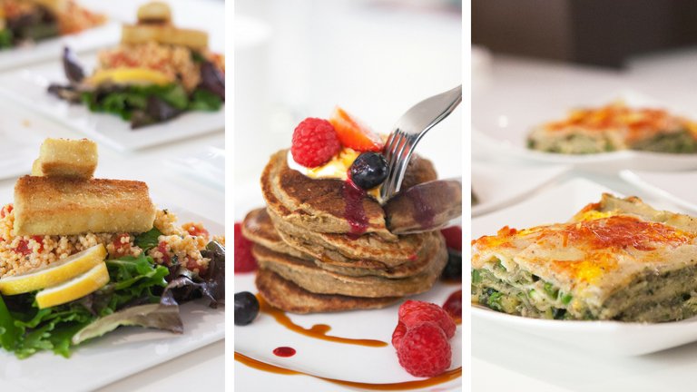 Reset Retreats food cook with amore