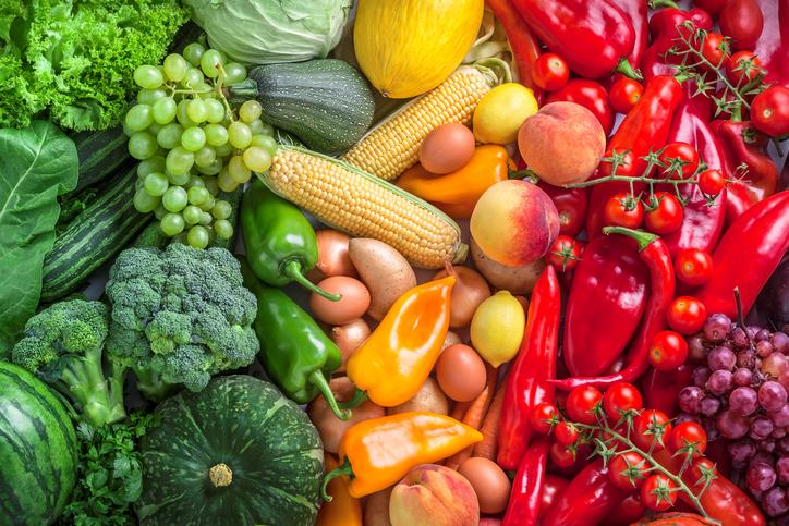 rainbow diet, intermitting fasting, by healthista