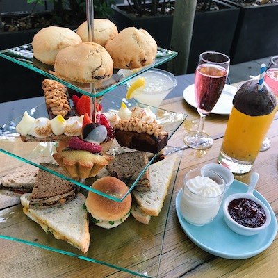 vegan afternoon tea clarisse flon cafe forty one by healthista