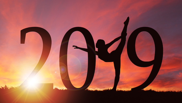 2019 New Year silhouette 2019 yoga pose on sunset, 2019 wellness trends, healthista.com main image .jpg