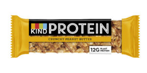 Kind protein bar peanut crunchy butter how to get more protein by healthista.com