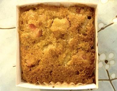 Vegan gluten free rhubarb raspberry polenta cakes Olivier Sanchez Healthista