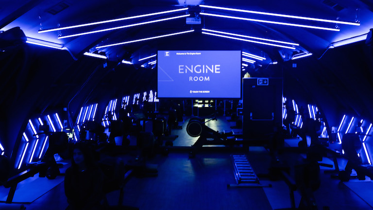 the engine room london, rowing, exercise, health trends, healthista.com
