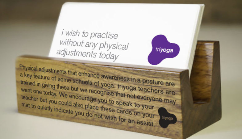 triyoga consent cards, healthista.com