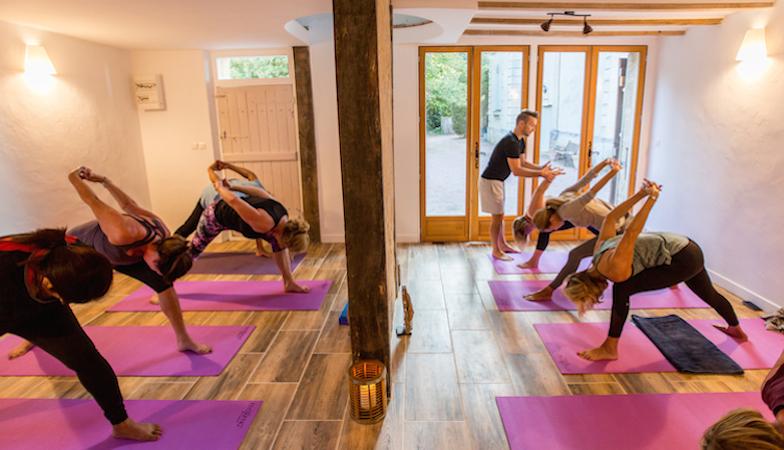 yoga studio, yoga retreat, by healthista.com