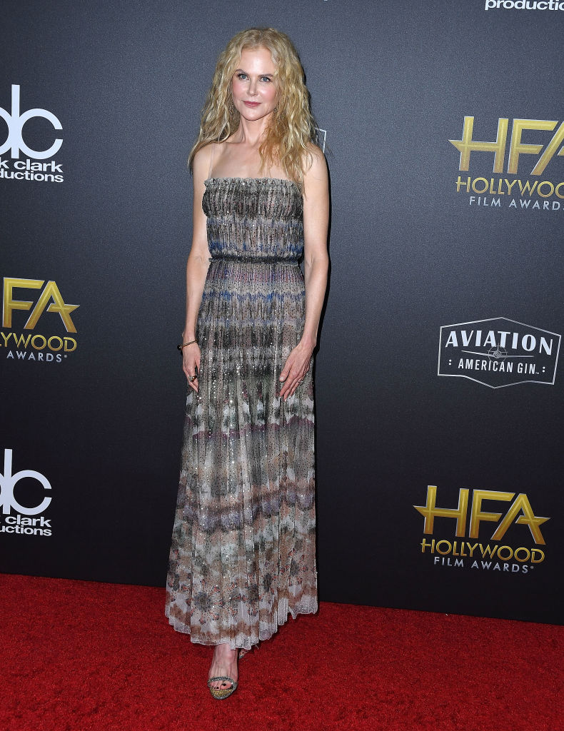 natural curly hair, Nicole Kidman, List, Awards, Healthista