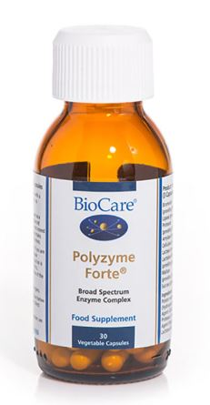 Biocare Polyzyme forte product shot
