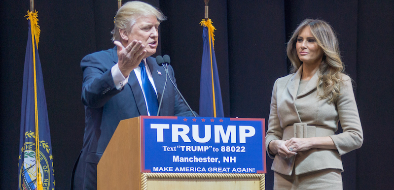 Donald_and_Melania_Trump narcissism