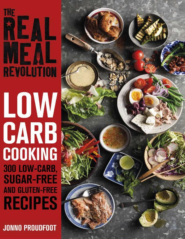 The real meal revolution by Jonno Proudfoot Book Cover