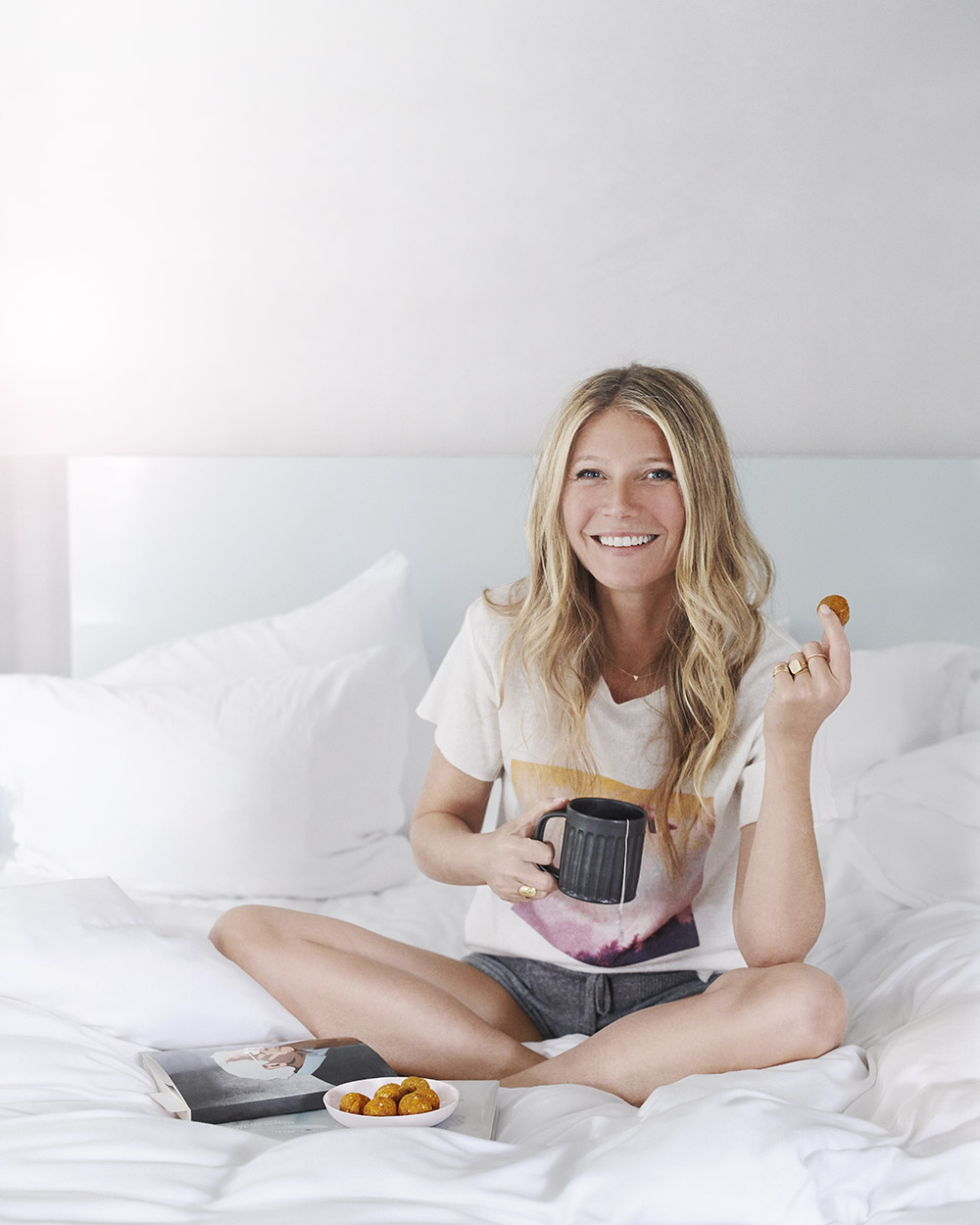 3 vegan treats Gwyneth Paltrow Apricot truffles
