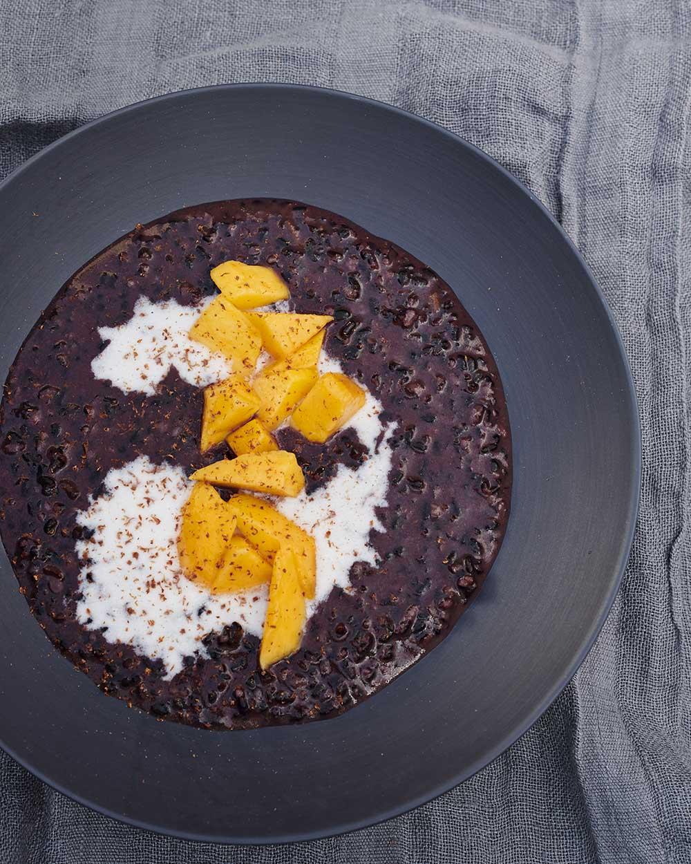 3 vegan treats Gwyneth Paltrow Black Rice Pudding