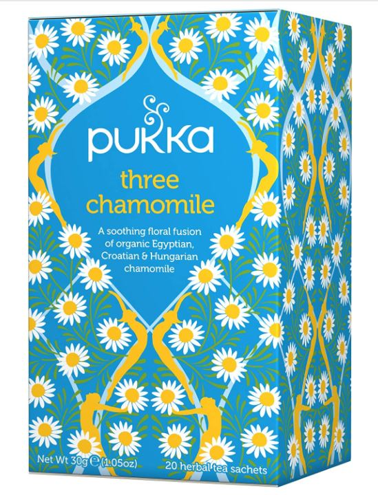 Pukka three cammomile tea libido boosters
