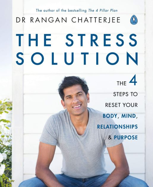 The stress solution Dr Rangan Chatterjee book cover