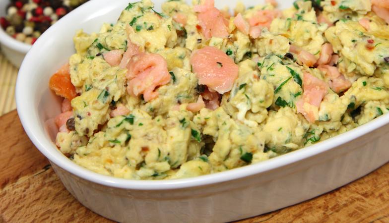 mood food diet, healthista, scrambled eggs