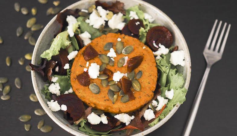 mood food diet, healthista, tofu w salad
