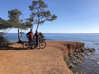ibiza couple bikes feature