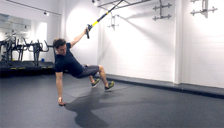 This TRX back workout will challenge your strength