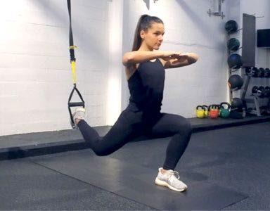 leg workout,TRX, routine, Opus, healthista