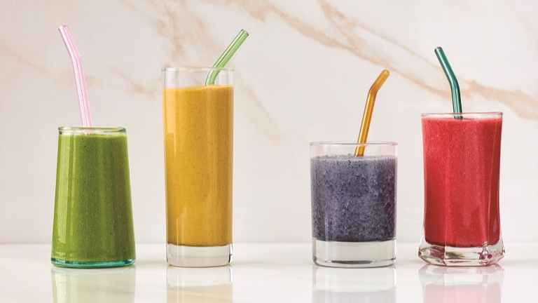 -Adaptogens-four-smoothies
