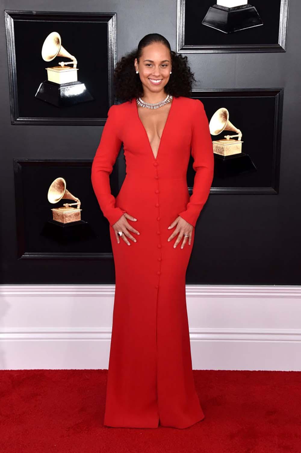 7 hottest Grammy bodies-Alicia-Keys-Grammy-Awards.