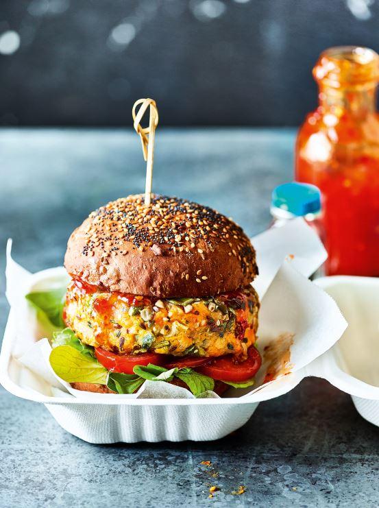 3 healthy recipes we love from Gemma Atkinson's new cookbook Gemma Atkinson Veggie burger