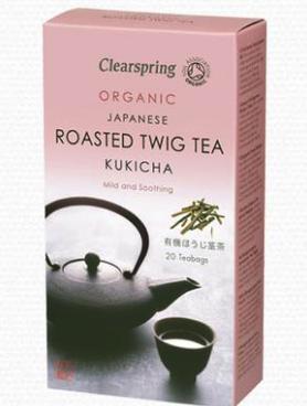 best tasting green teas, clearspring twig tea