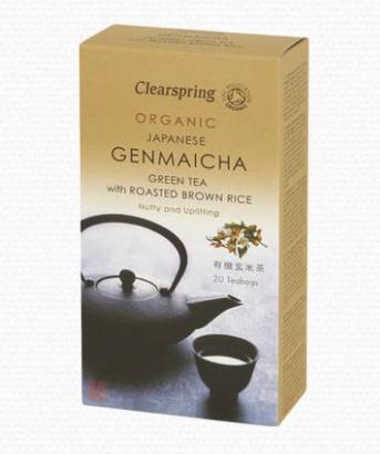best tasting green teas, genmaicha clearspring