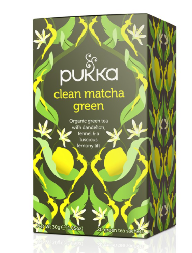 best tasting green teas, pukka herbs