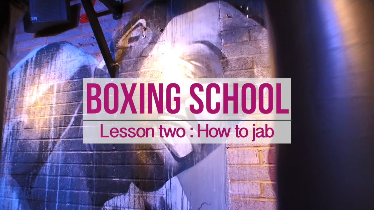 Boxing School lesson #2 How To Jab