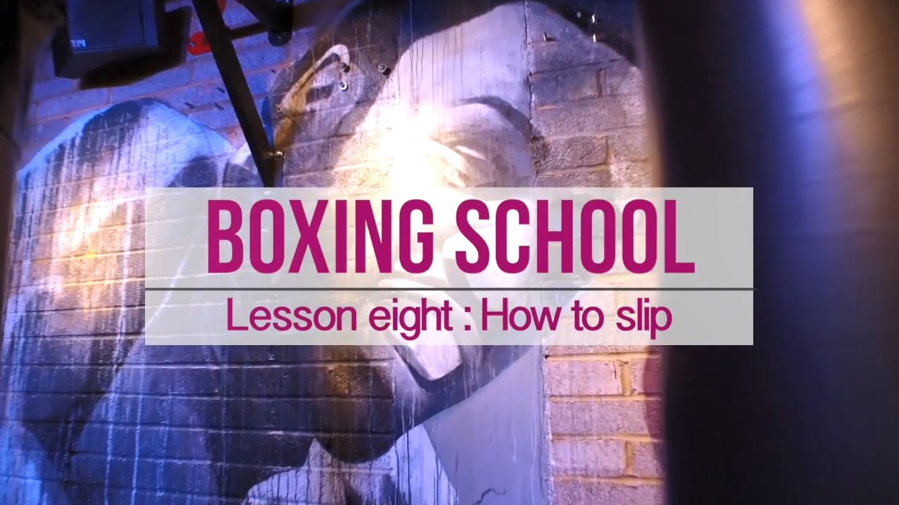Boxing skl how to slip