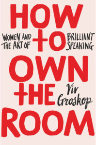 How to Own the Room HB copy viv public speaking tips in text