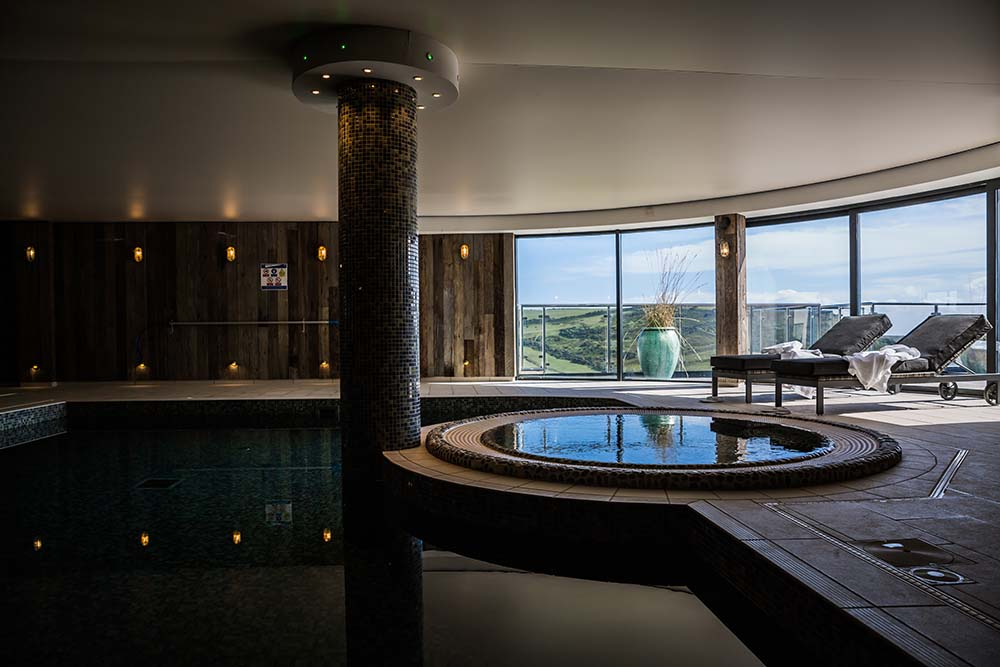 Indoor pool with jacuzzi gara rock hotel spa review