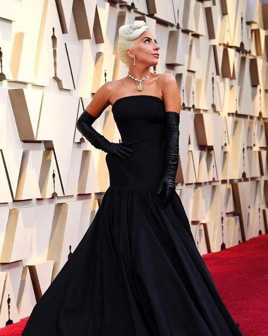 Lady Gaga Oscars Insta