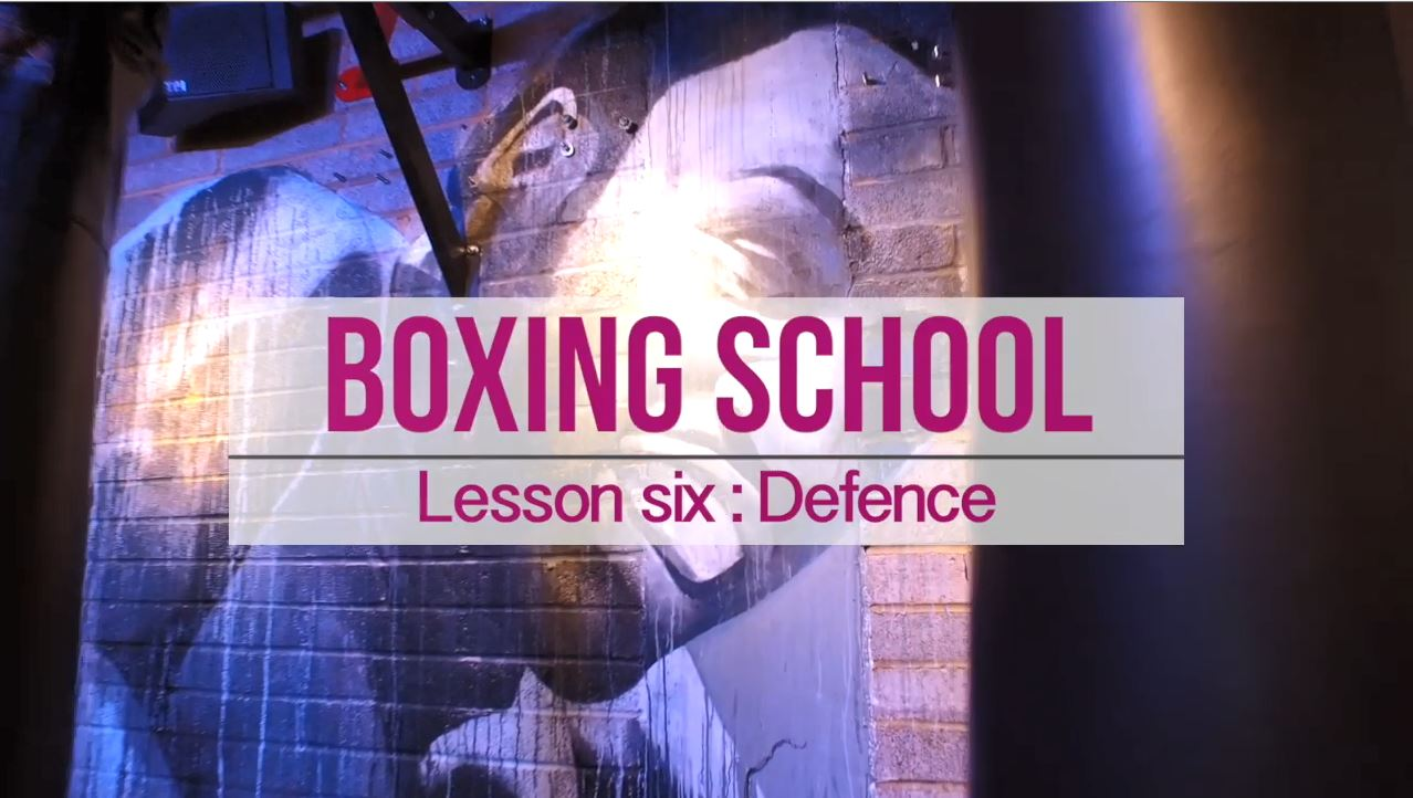 Lesson number 6 defence how to box boxing school