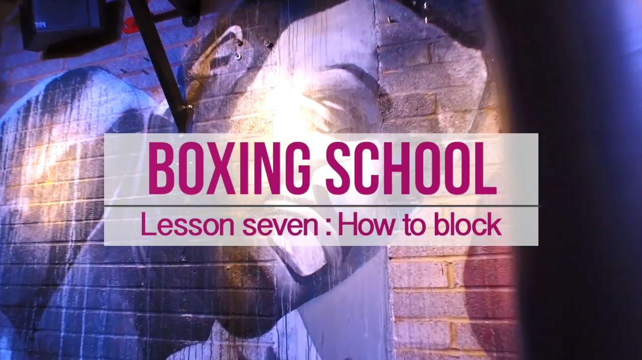Lesson seven how to block boxing skl