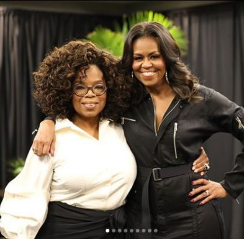 Michelle Obama book tour