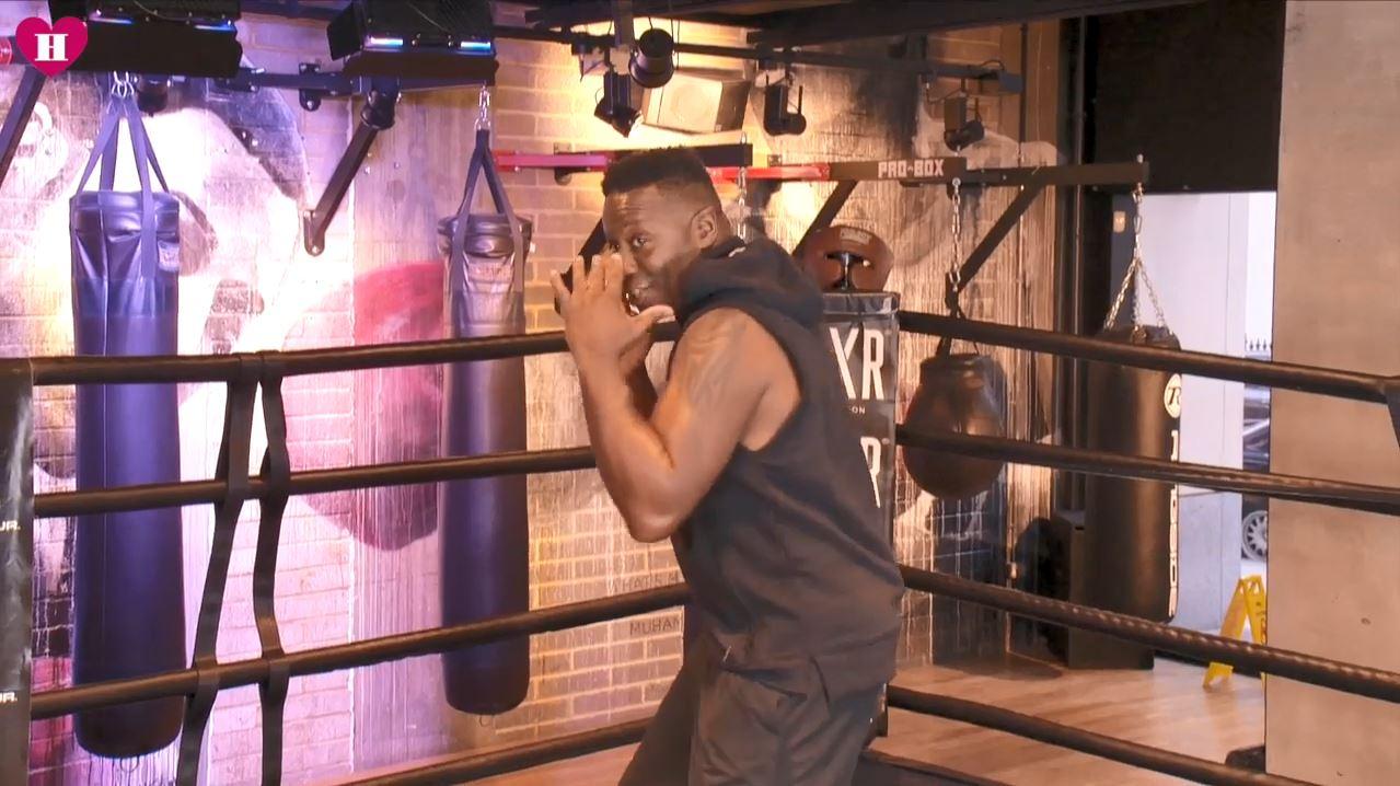 how to block boxing school