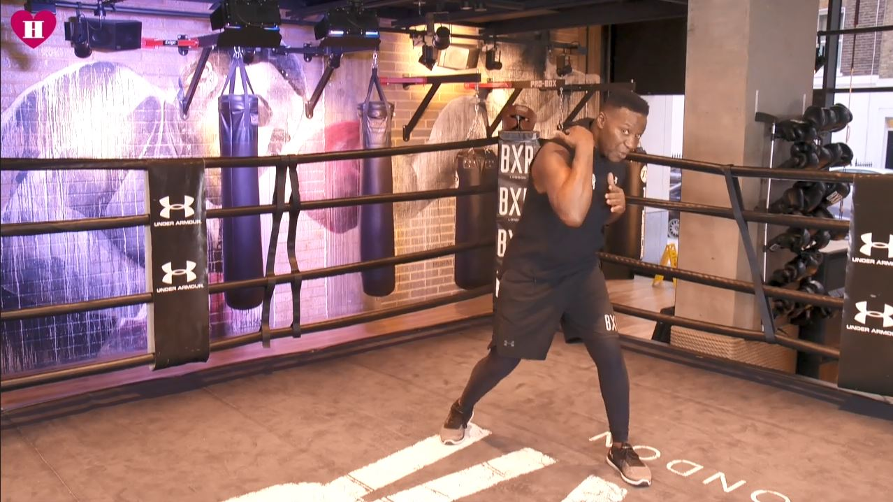 how to box defence boxing school
