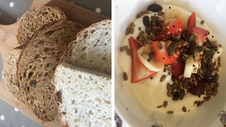Breakfast at Crossways Farm (1)