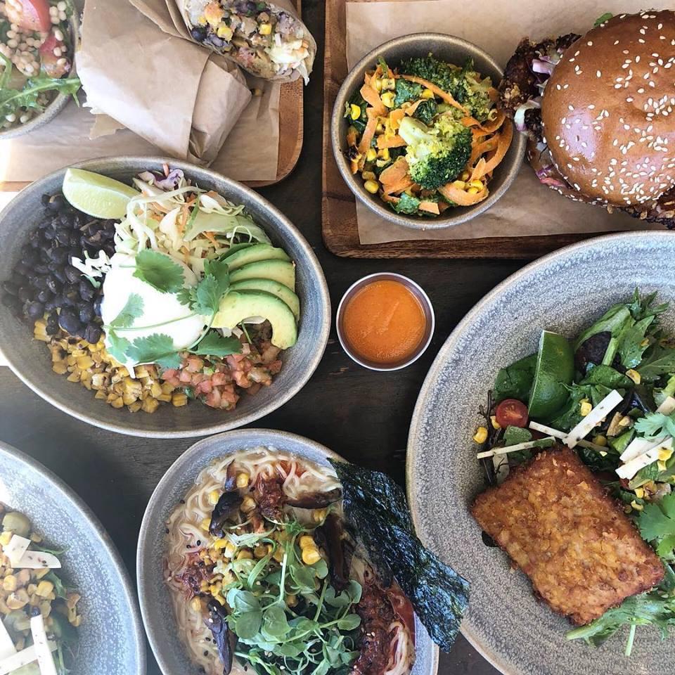 m cafe, vegan restaurants