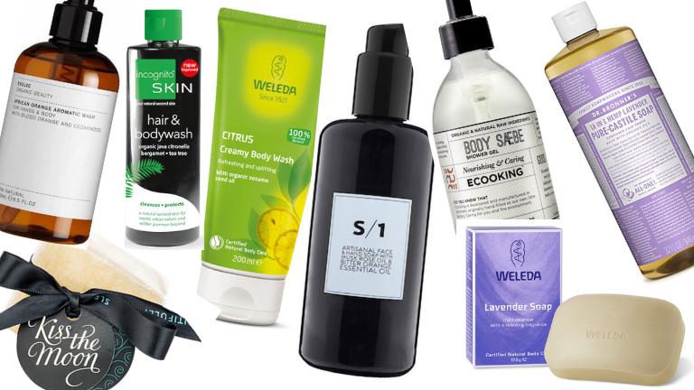 9 best organic shower gels for sensitive skin