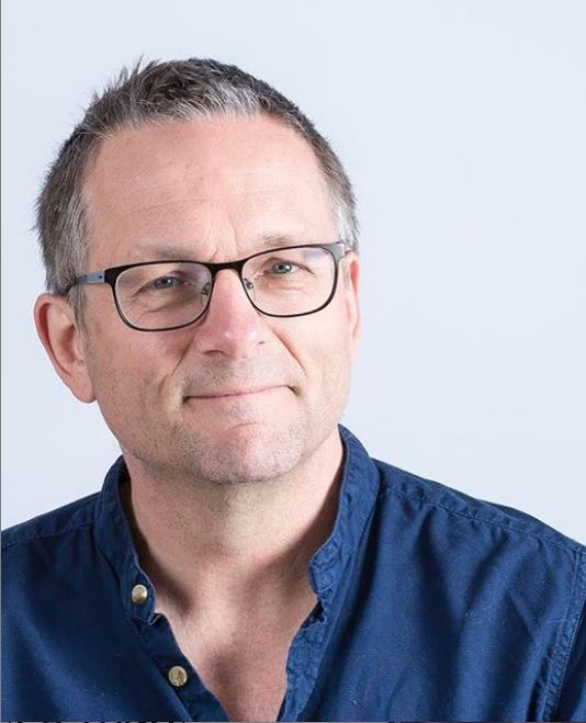 Dr Micheal Mosley Headshot