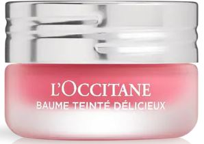 L'Occitane Delicious Tinted Balm in Pink Calisson Annabel