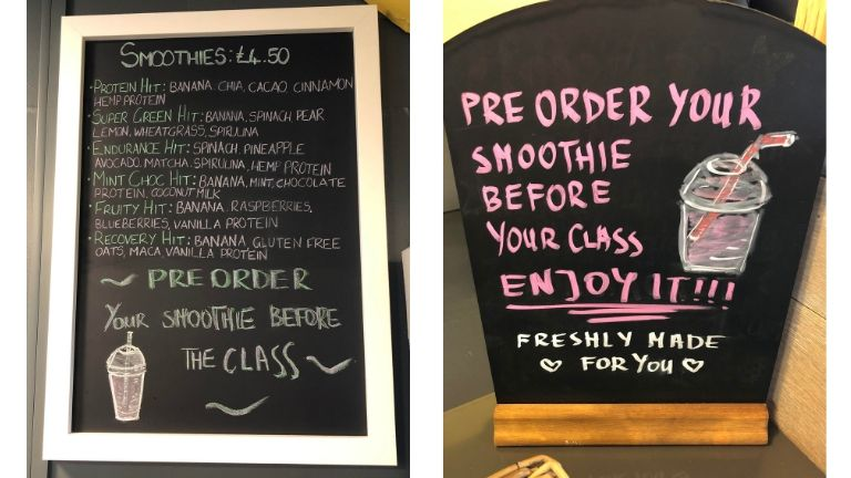 Transition zone smoothie info