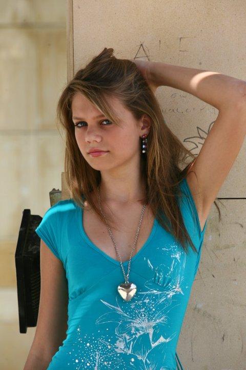 model leanne - first shoot