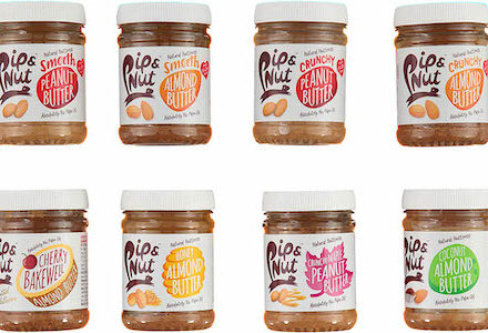 Pip & Nut win entire range of pip and nut